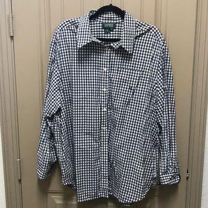 Ralph Lauren gingham shirt/blouse 2X